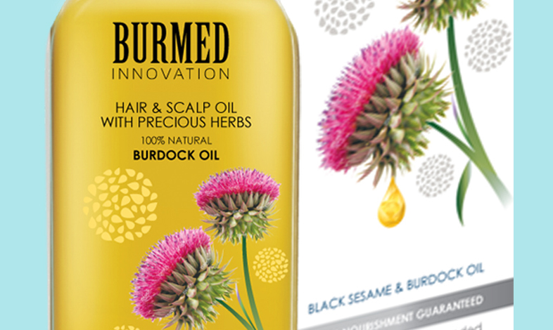Hair Oil Packaging Design