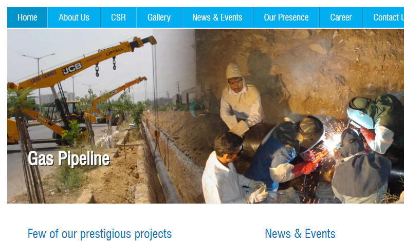 Infrastructure Projects Website1