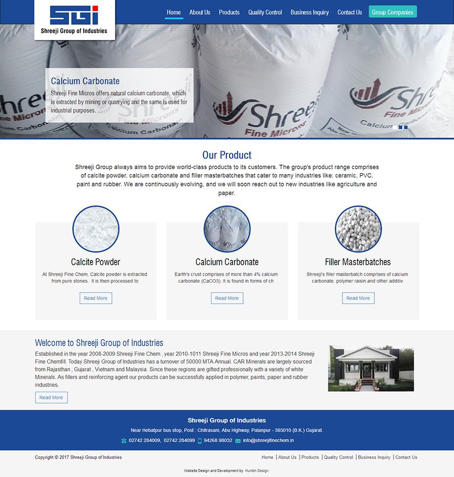 Industry Website Design and Development