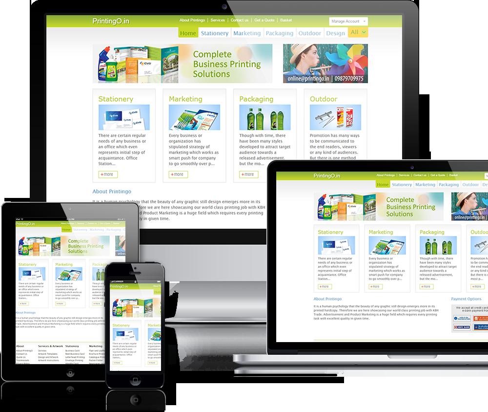 Online Print Shop Website