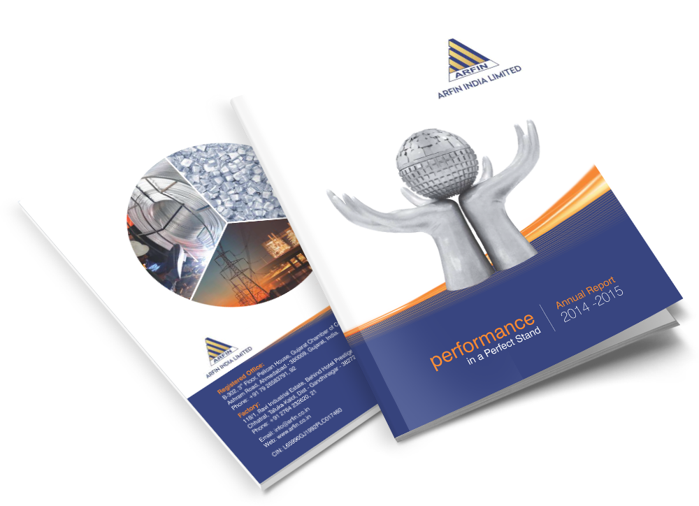 Alloys Company Brochure Design