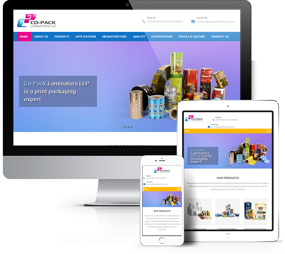 Company WordPress Website Development