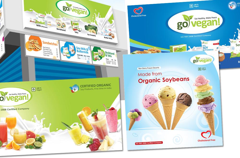 Dairy Shop Branding Design