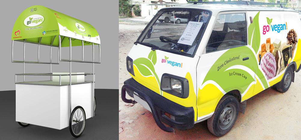 Dairy Vehicle Wrap Design
