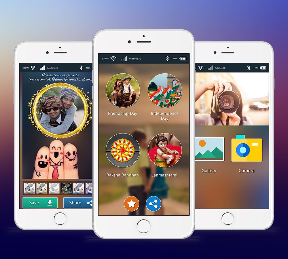 Festival Photo Frame App Development