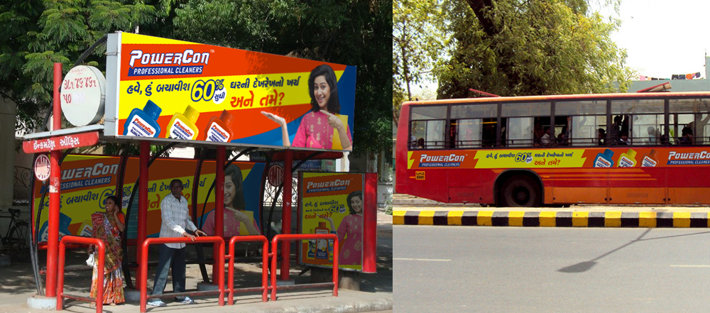 FMCG Outdoor Marketing Design