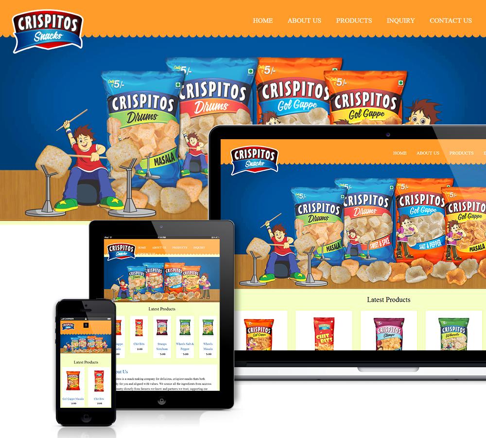 Food Ecommerce website