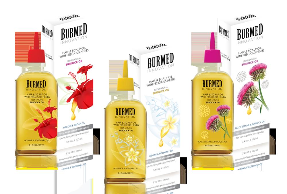 Hair Oil Packaging Design