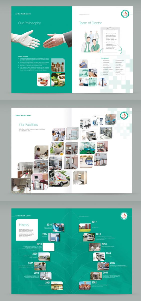 Healthcare Brochure Design