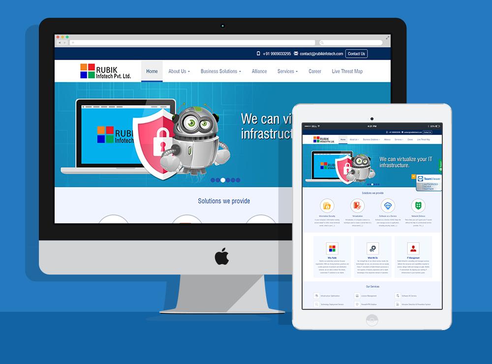 IT Consultant Website Design