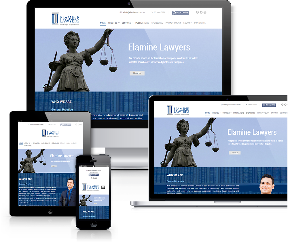 Lawyer WordPress Website Design