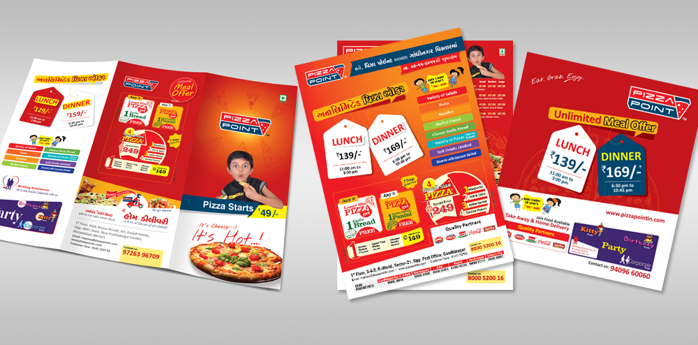 Restaurants Marketing Collateral