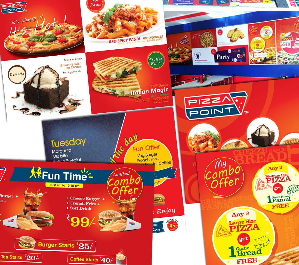 In Shop Branding for Restaurants