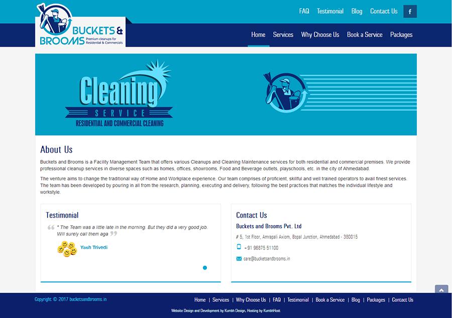 Service Provide Website Design and Development