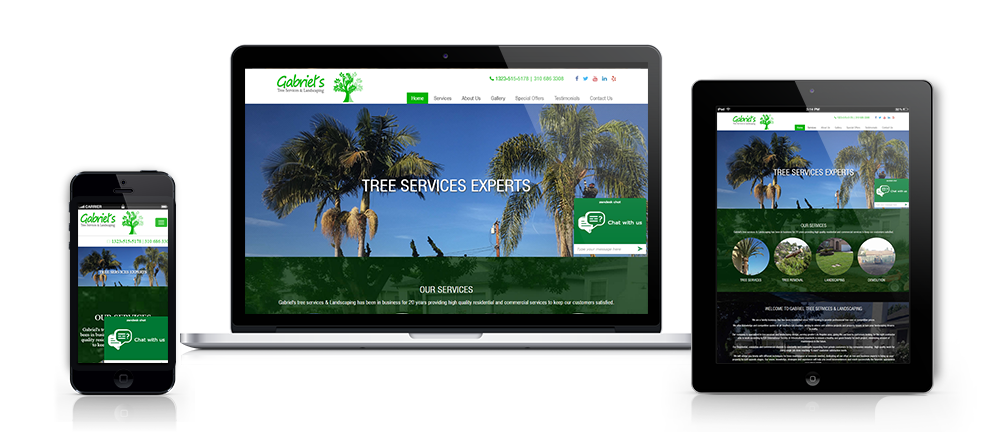Tree Services Website Design